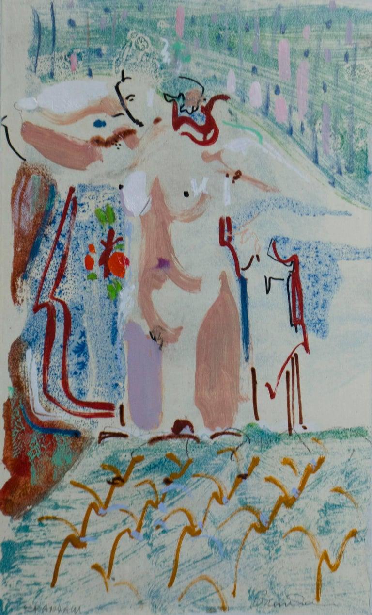 Robert Branham Figurative Painting - Boudoir