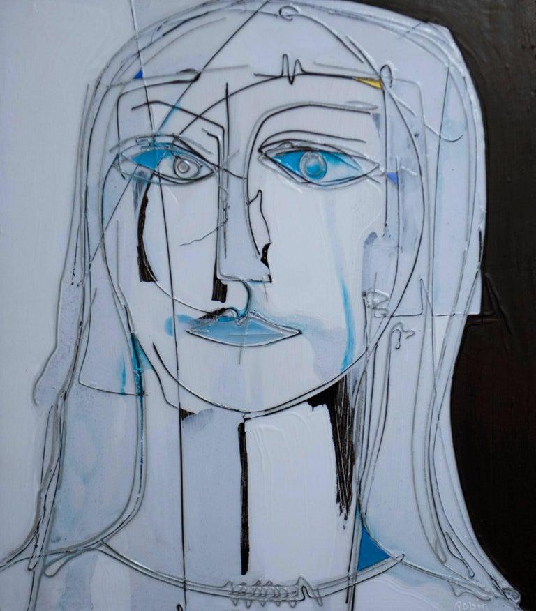 Robin Branham Figurative Painting - You and Me #1