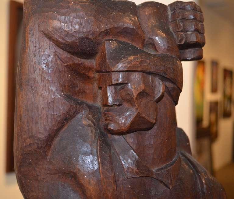 The Partisan - Sculpture by Burton Freund