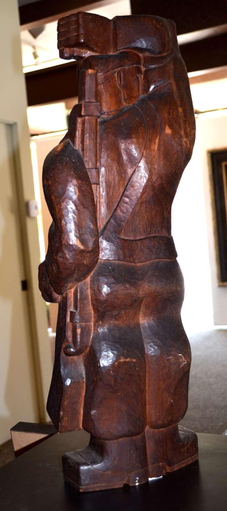 The Partisan - Art Deco Sculpture by Burton Freund