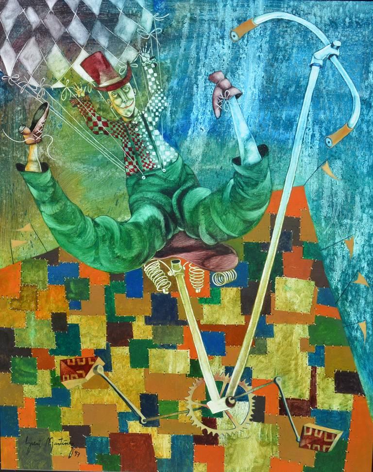 Yuri Martinez Ramos Figurative Painting - La Carpa