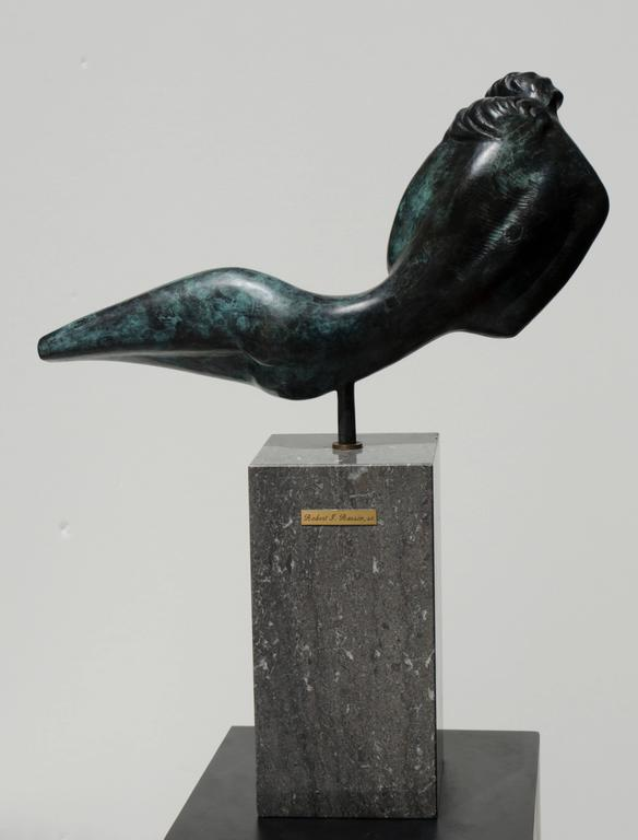 Thou Art Beautiful, Oh My Love - Sculpture by Robert Russin