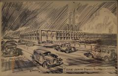 Pierce Arrow Plant, Buffalo, 1927