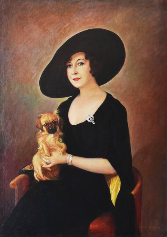 Alexander Rosenfeld The Sophisticate Painting For Sale