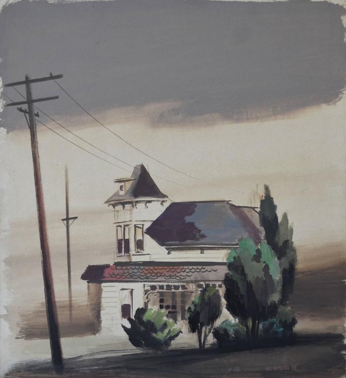 Robert McIntosh Landscape Painting - City Hall
