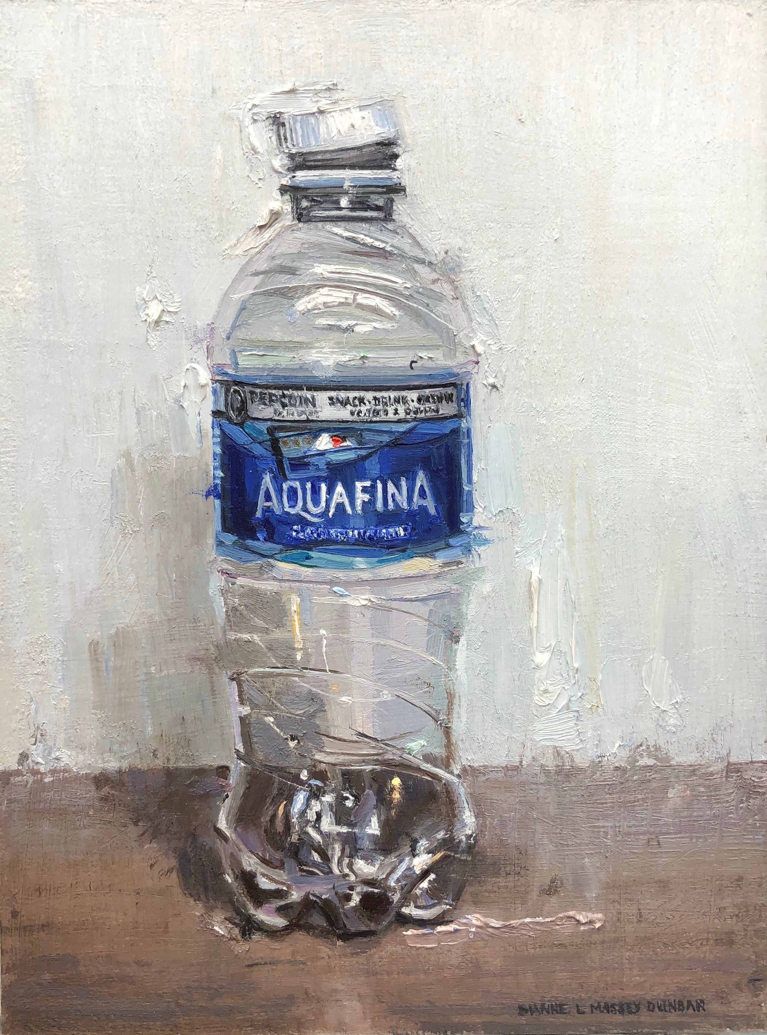 """""""Water Bottle"""", Oil Painting"""
