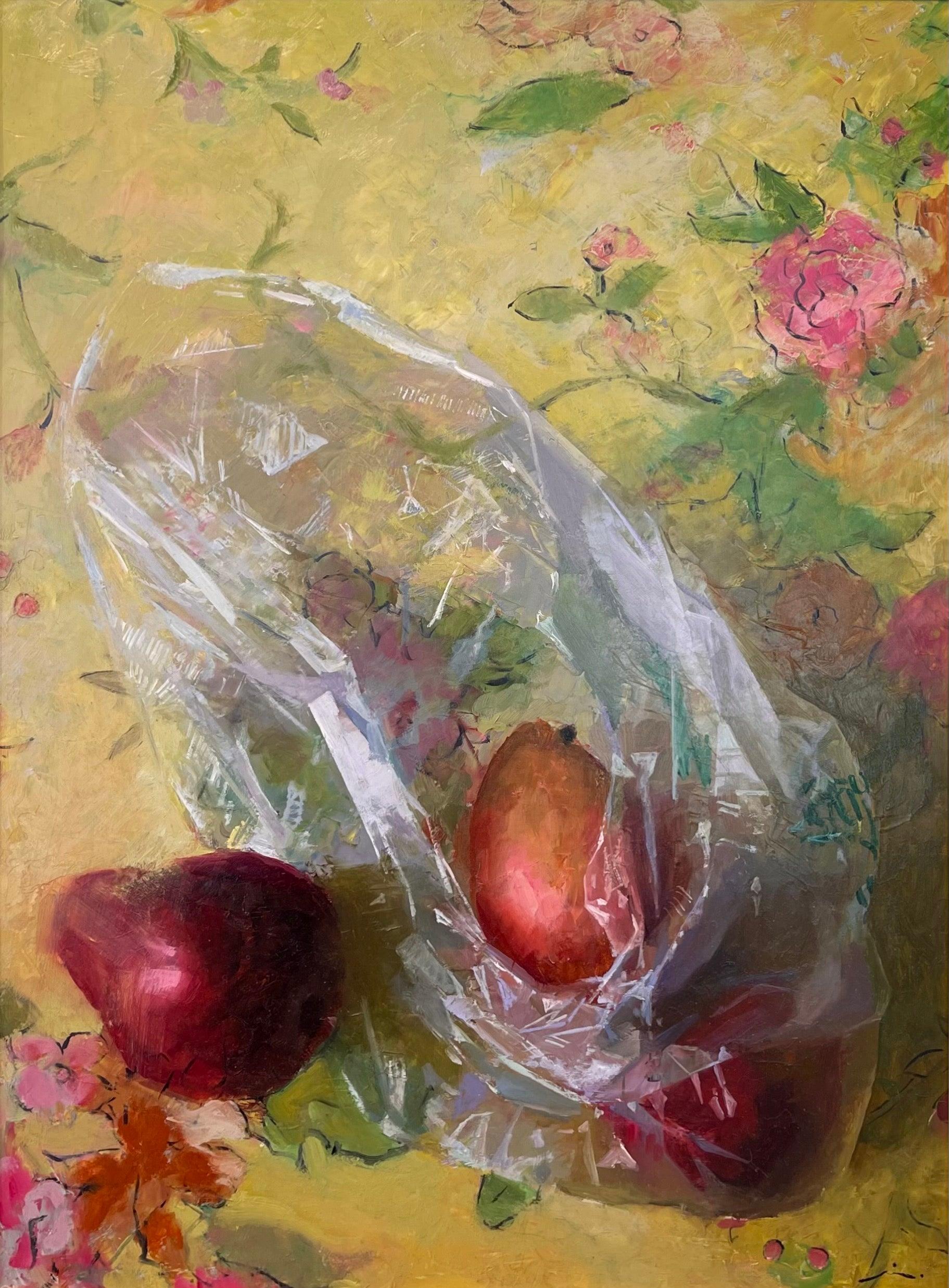 """""""Sylvie's Tart,"""" Oil Painting"""