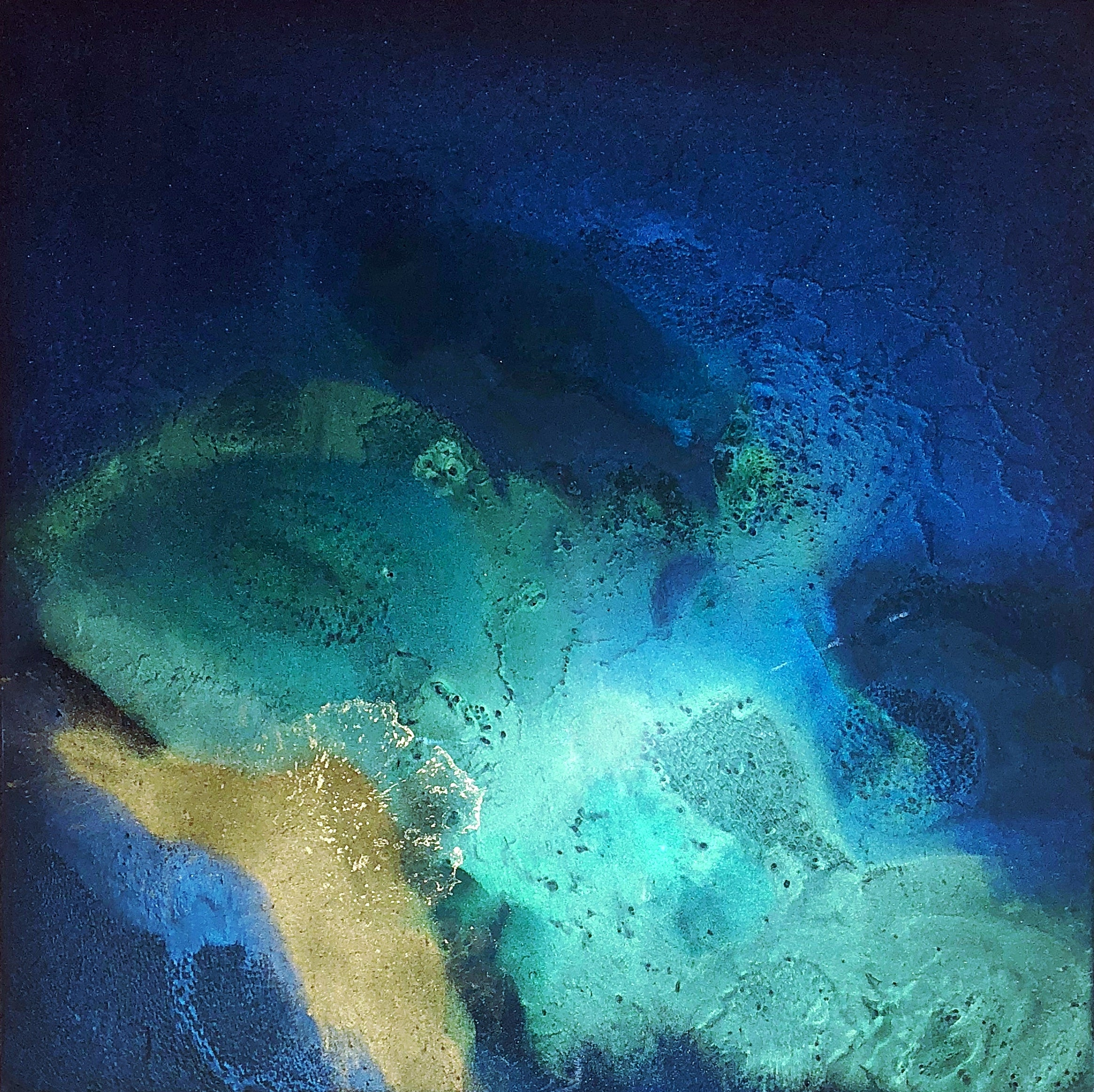 """Glow Within"" Resin Painting"