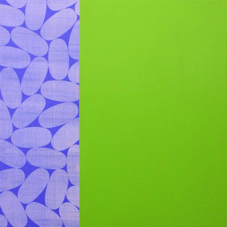 Jamie Brunson Abstract Painting - Pearlie