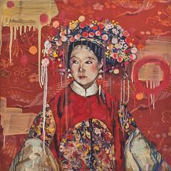 Manchu Bride- Red Study II