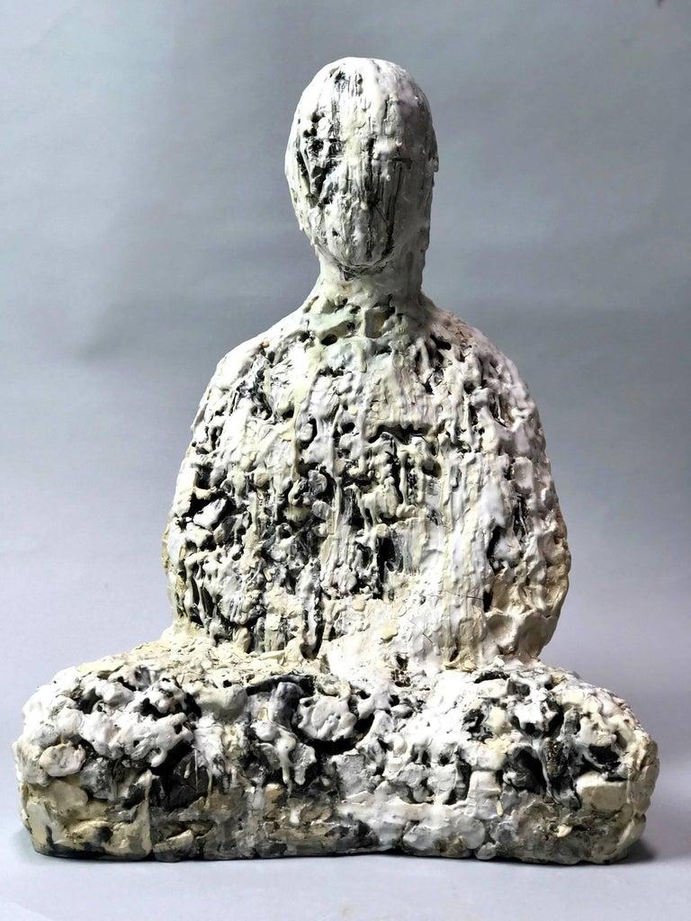 Wanxin Zhang Figurative Sculpture - Snow Day
