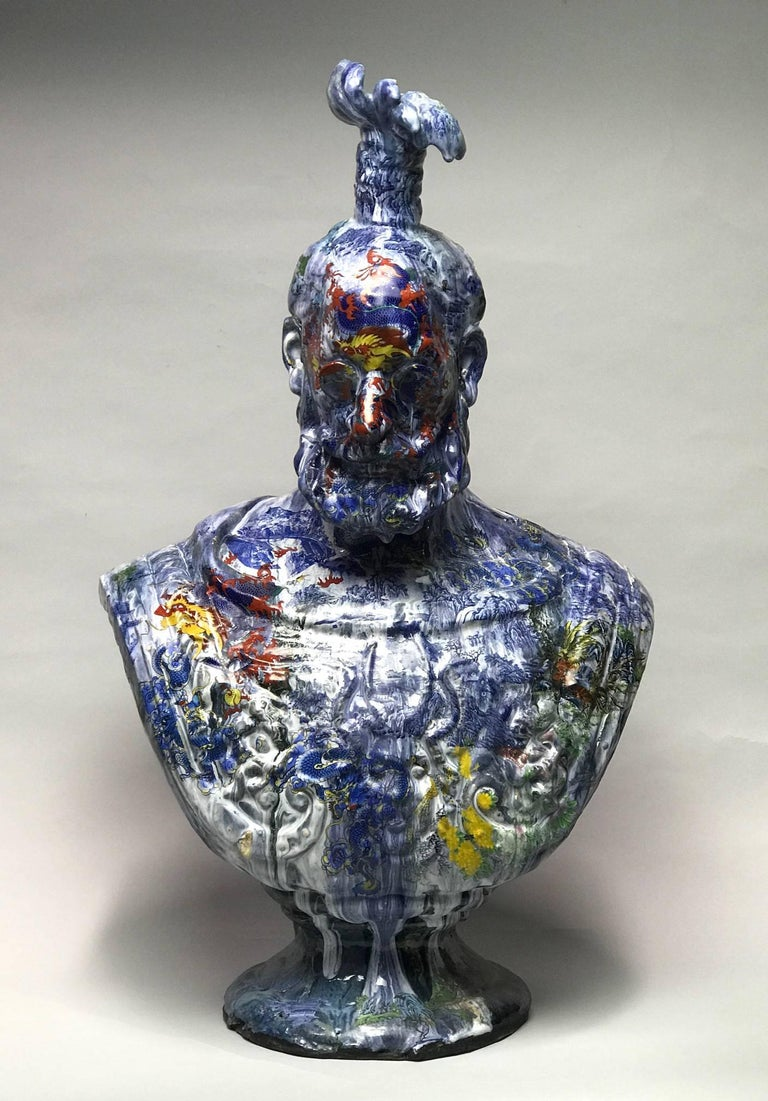 Wanxin Zhang Figurative Sculpture - Ambassador