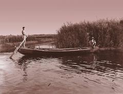 Village Portrait: Boat Men