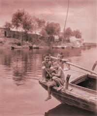 Village Portrait: Three Little Fishermen