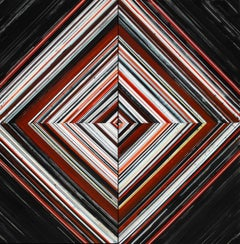 In the immobile whirls the infinite (Ojo) Weaving Series