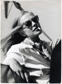 Hildegard Knef - Chilling in the sun