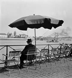 Man by the Rhine, Cologne, 1935