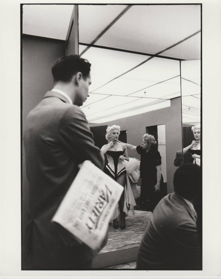Edward Feingersh Black and White Photograph - Marilyn Monroe, unique print of 1988 from original negative