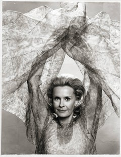 The beautiful Actress Dina Merrill captured by Karsh of Ottawa