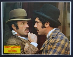 """Original American Lobby Card of the Movie """"HARRY AND WALTER GO TO NEW YORK"""" 1976"""
