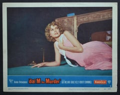 """Original American Lobby Card of the Movie """"dial M for Murder"""" USA 1954"""