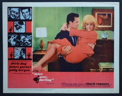 """Vintage American Lobby Card of the Movie """"move over, darling"""" USA 1963"""