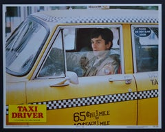 "Vintage American Lobby Card of the Movie ""TAXI DRIVER"" USA 1976"