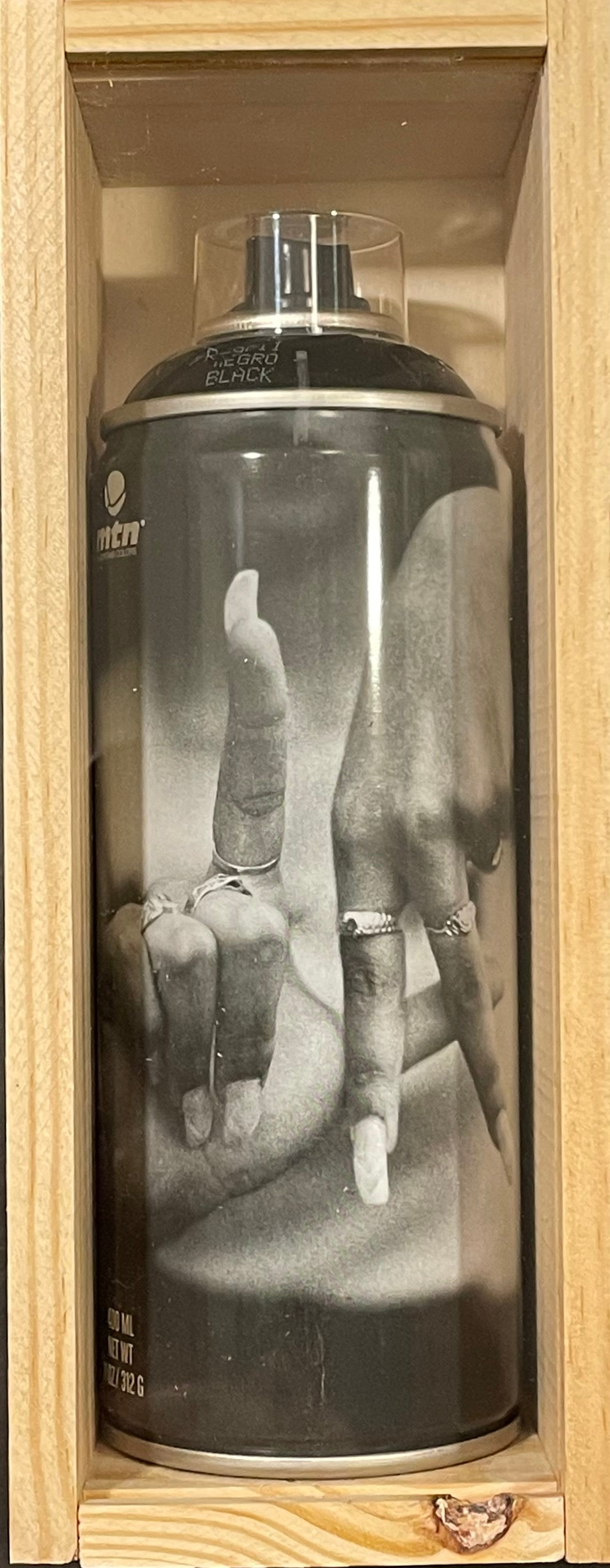 LA Fingers Signed Spray Can Estevan Oriol Los Angeles BTS Street Photography Art