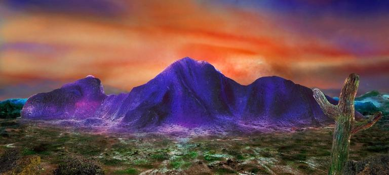 Liz Hickok Still-Life Photograph - Camelback Mountain, Scottsdale in Jell-O