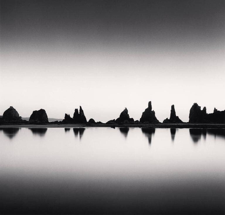 Michael Kenna Landscape Photograph - Hashikui Rocks, Study 1, Kushimoto, Honshu, Japan. 2002