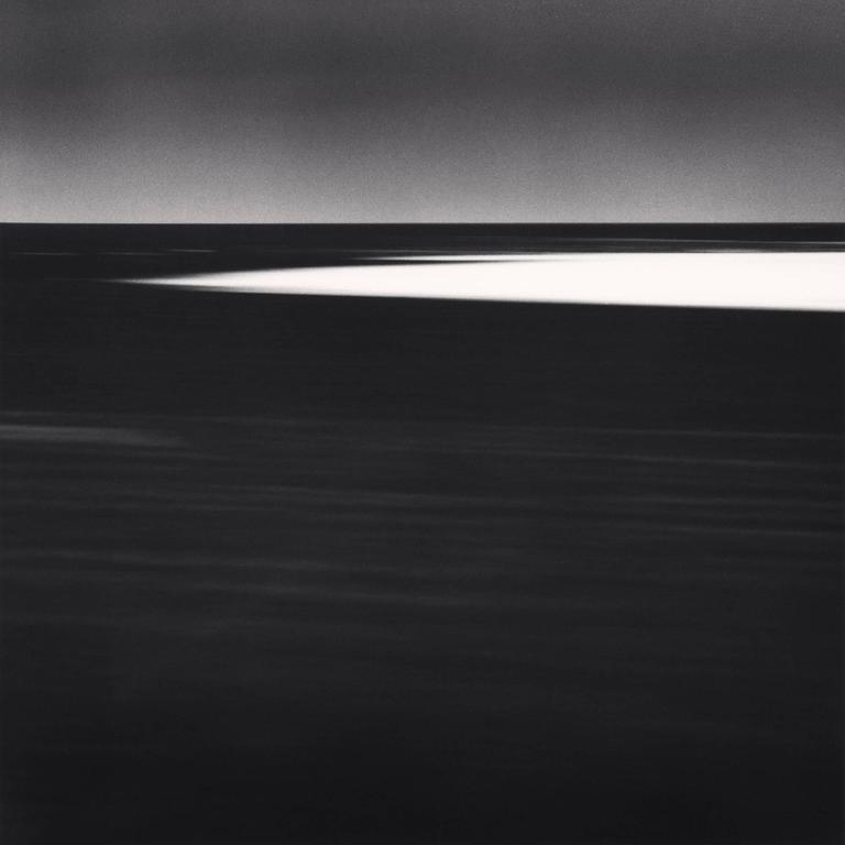 Michael Kenna Landscape Photograph - Ice Floe, Cape Hinode, Hokkaido, Japan. 2005