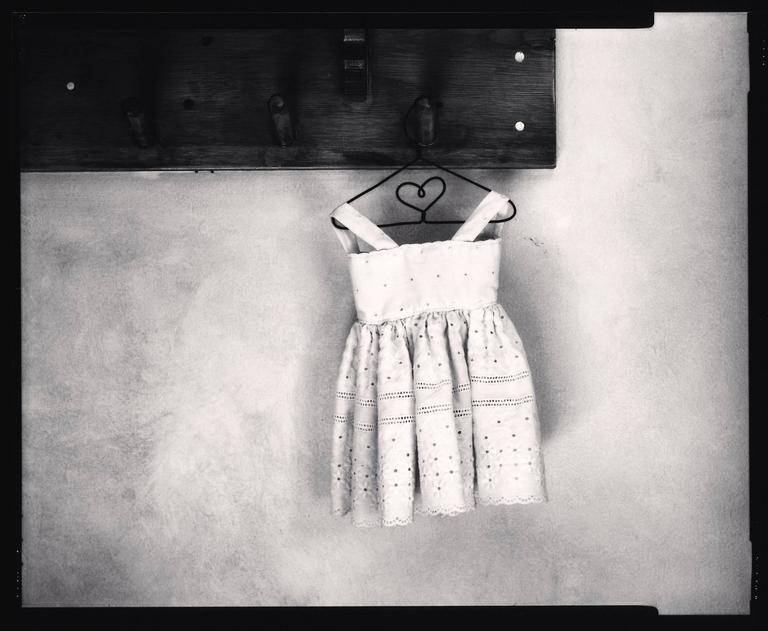 Michael Kenna Still-Life Photograph - Summer Dress,1997