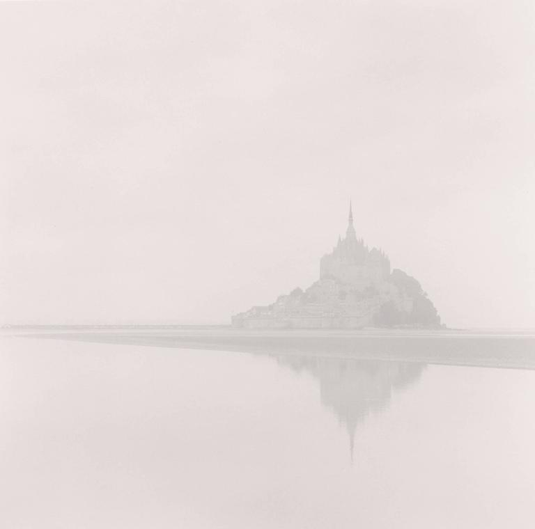 Dawn Mist, Mont St. Michel, France