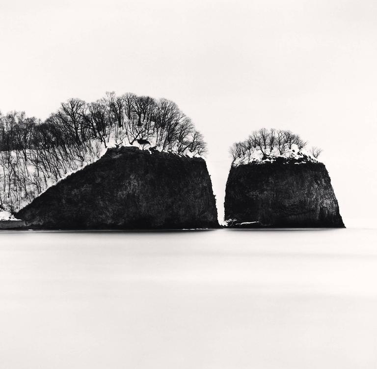 Michael Kenna - Futatsui Rocks, Study 1, Abashiri, Hokkaido, Japan 1