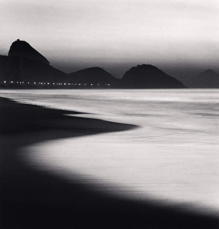 Michael Kenna - Copacabana Beach, Rio de Janeiro, Brazil 1