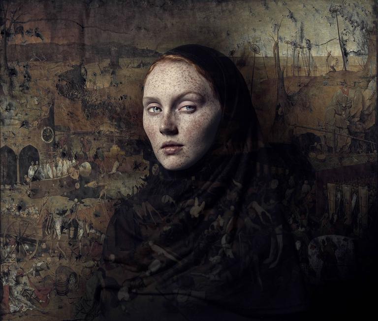 Bear Kirkpatrick Color Photograph - Ashley 3: TheTriumph of Death