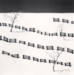 Thirty One Snow Fences, Bihoro, Hokkaido, Japan