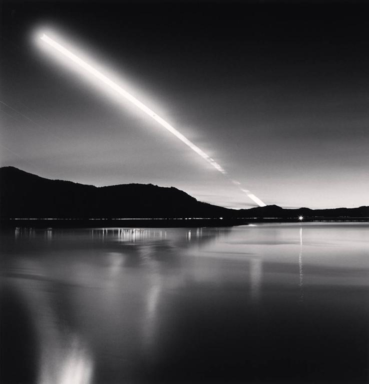 Moon Set, Lake Campotosto, Abruzzo, Italy