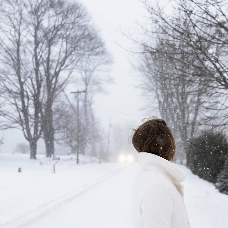 Hannah in the Blizzard
