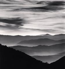 Distant Mountains, Passo delle Capannelle, Pizzoli, Abruzzo, Italy