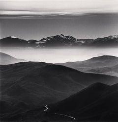 Mountain Road, Calascio, Abruzzo, Italy