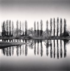 Ortucchio Lake Reflection, Fucino, Abruzzo, Italy