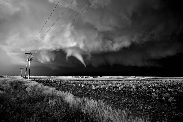 Tornado Over Farmland
