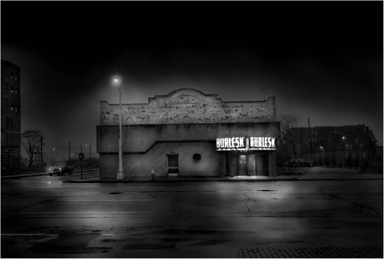 Teri Havens Landscape Photograph - Burlesk, Detroit
