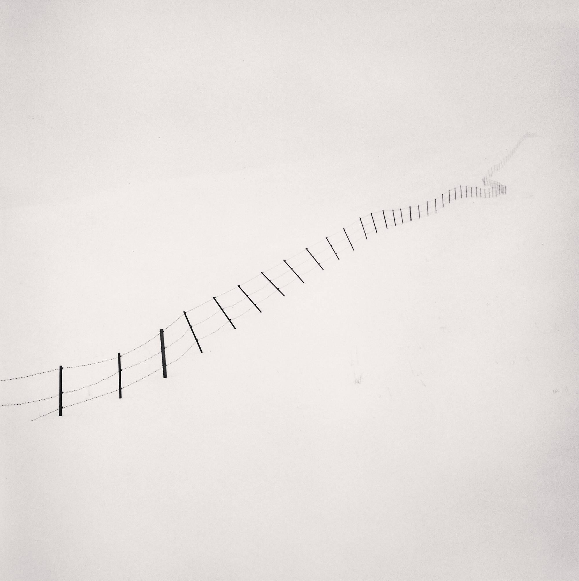 Hillside Fence, Study 4, Teshikaga, Hokkaido, Japan. 2002