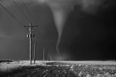 Tornado Crossing Power Poles