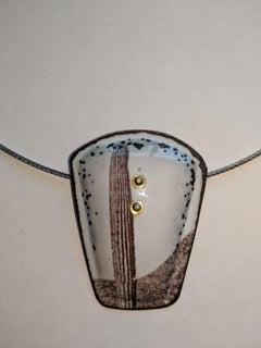 Enamel Necklace I