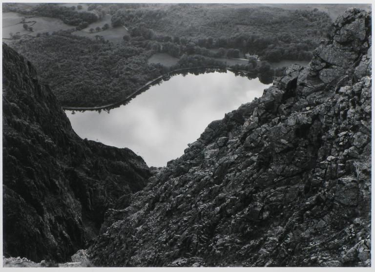 Edward Ranney Black and White Photograph - Wastwater from Whinn Rigg, Cumbria, England