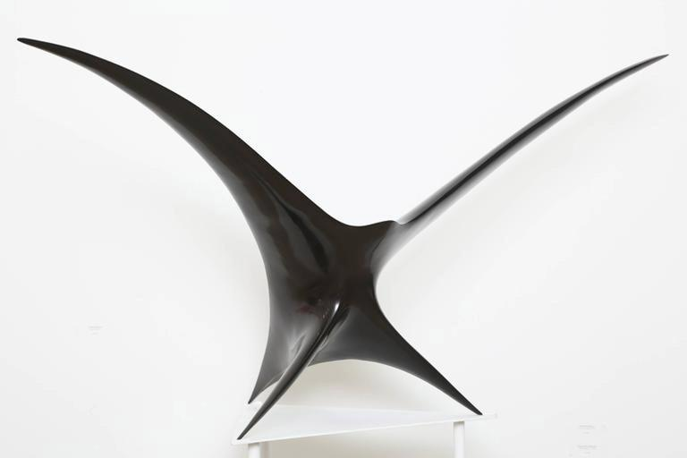 Patrice Breteau Abstract Sculpture - Twin Bird
