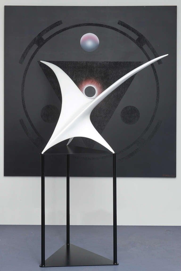 Twin Bird Sculpture For Sale 1